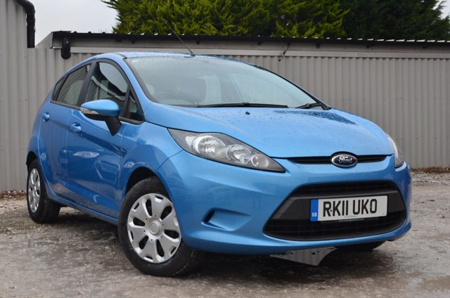used Ford Fiesta ECONETIC TDCI in warrington