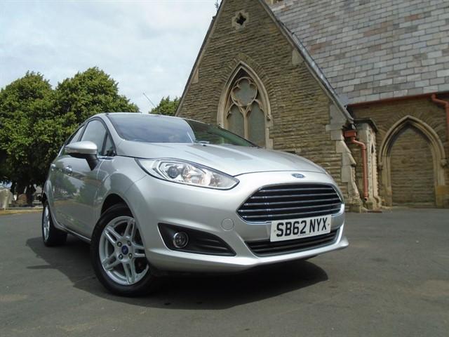 used Ford Fiesta ZETEC in warrington