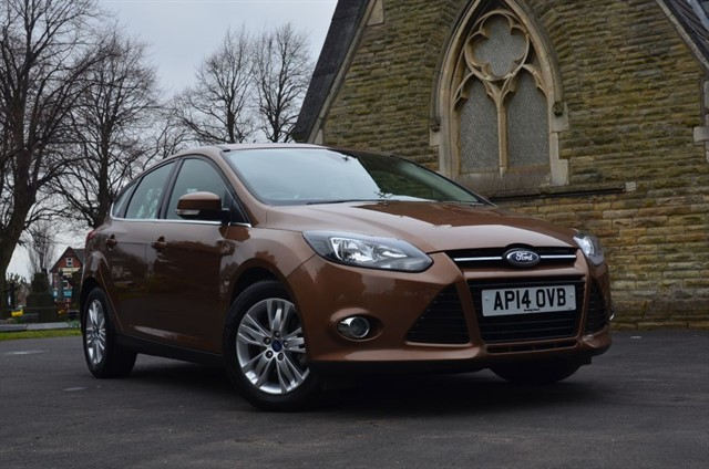 used Ford Focus FOCUS TITANIUM NAVIGATOR in warrington
