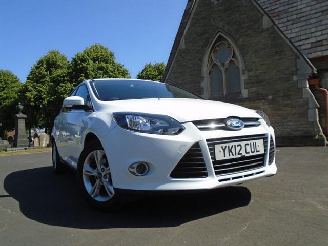 used Ford Focus ZETEC in warrington