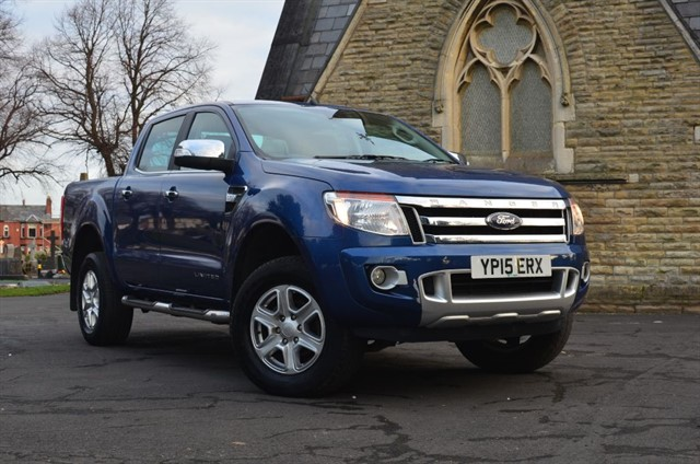 used Ford Ranger LIMITED 4X4 DCB TDCI in warrington