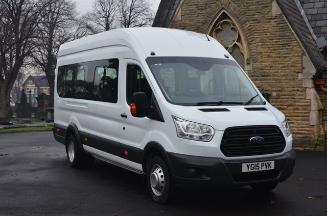 used Ford Transit 460 H/R BUS 18 STR in warrington