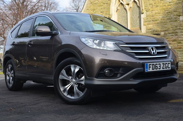 used Honda CR-V I-DTEC EX in warrington