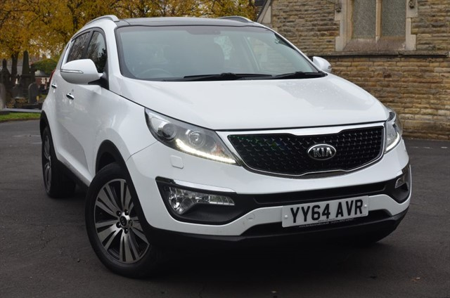 used Kia Sportage CRDI 3 SAT NAV ISG in warrington