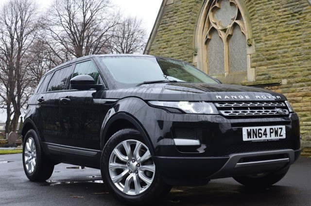 used Land Rover Range Rover Evoque ED4 PURE TECH in warrington