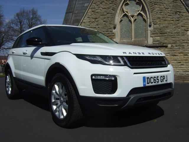 used Land Rover Range Rover Evoque SD4 PURE TECH in warrington