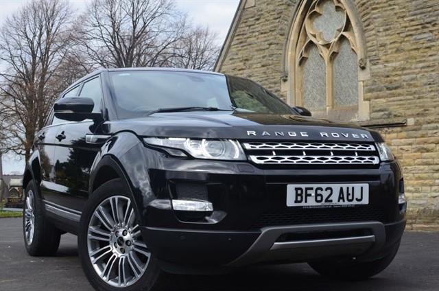 used Land Rover Range Rover Evoque SD4 PRESTIGE LUX in warrington