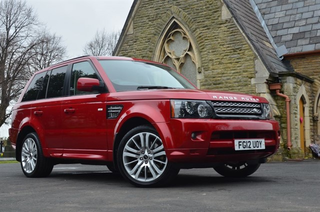 used Land Rover Range Rover Sport SDV6 HSE in warrington
