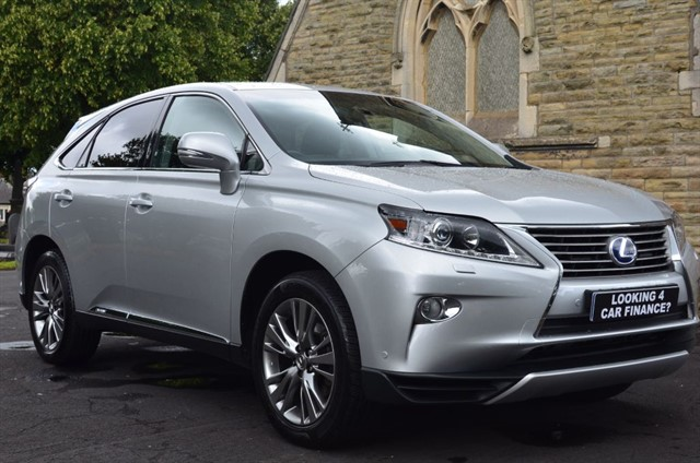 used Lexus RX 450h LUXURY in warrington