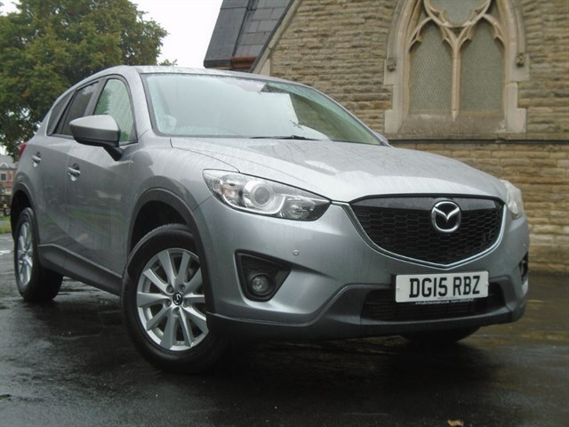 used Mazda CX-5 D SE-L NAV in warrington