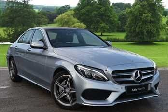 used Mercedes C250 D AMG LINE in warrington