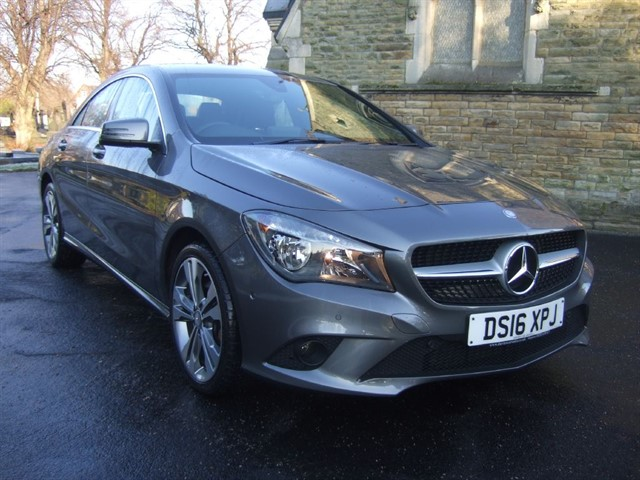used Mercedes CLA 220 CDI CLA CLA 220 D SPORT in warrington
