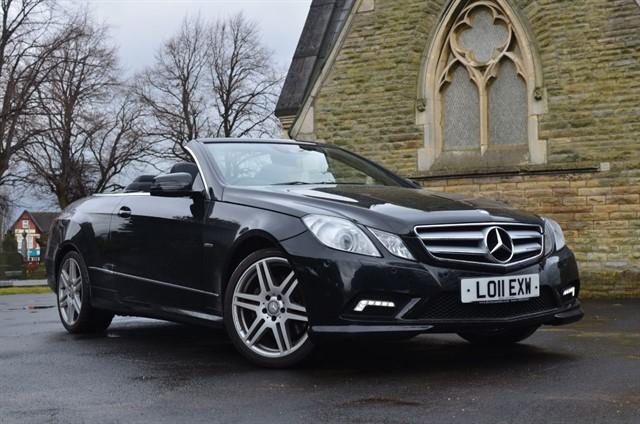 used Mercedes E220 CDI BLUEEFFICIENCY SPORT in warrington