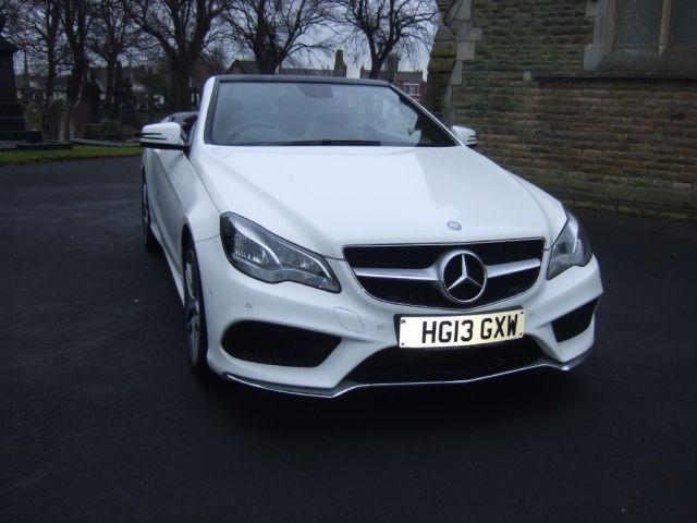 used Mercedes E220 CDI AMG SPORT in warrington