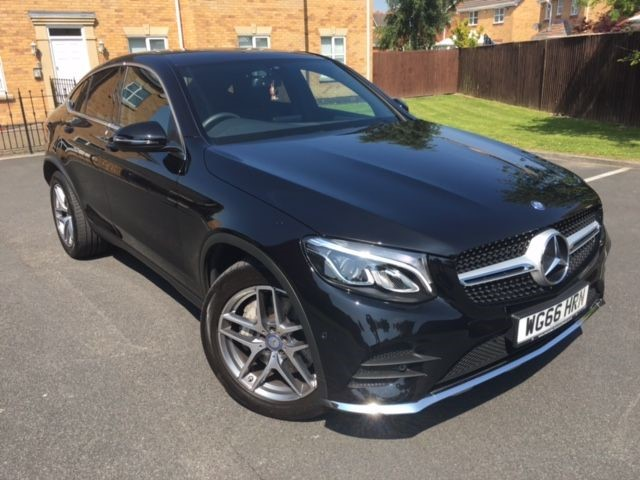 used Mercedes GLC220 C-CLASS GLC 220 D 4MATIC AMG LINE in warrington