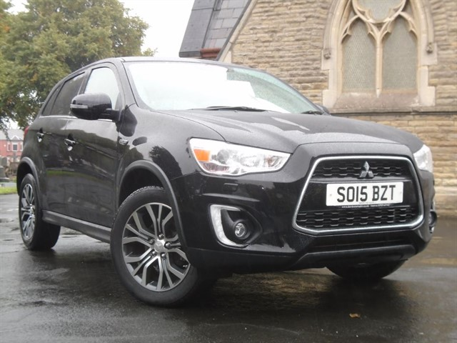 used Mitsubishi ASX ZC-M in warrington