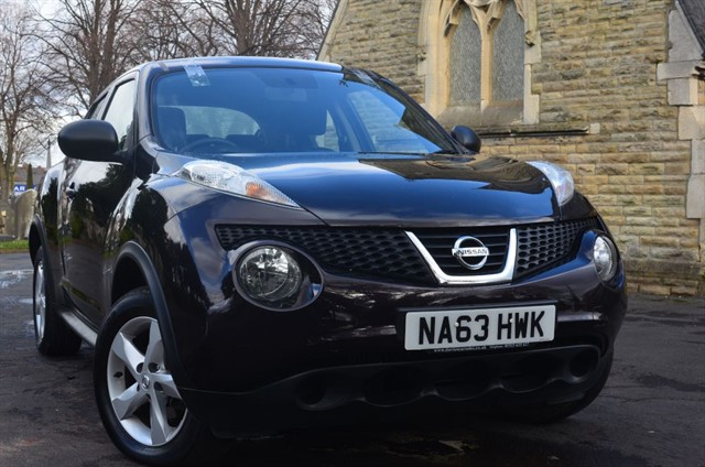 used Nissan Juke VISIA DCI in warrington