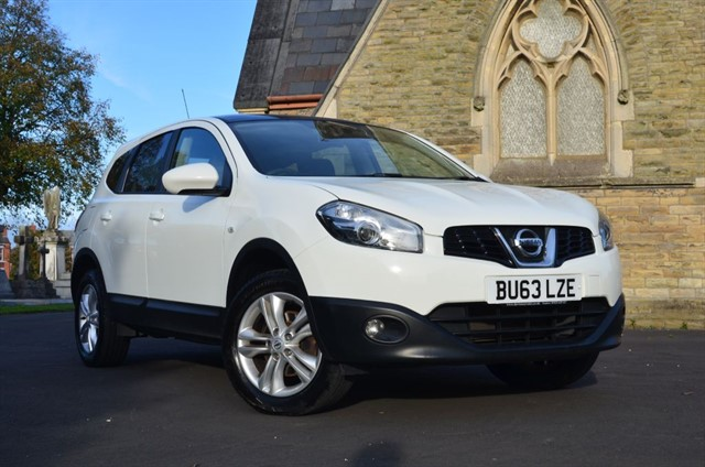 used Nissan Qashqai ACENTA PLUS 2 in warrington