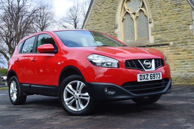 used Nissan Qashqai 1.5 dCi Acenta 2WD in warrington