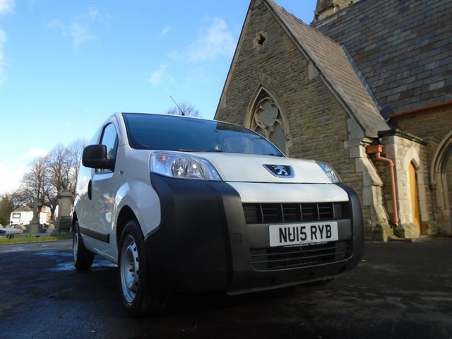 used Peugeot Bipper HDI S in warrington
