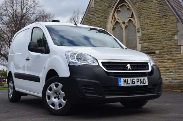 used Peugeot Partner HDI PROFESSIONAL L1 850 in warrington