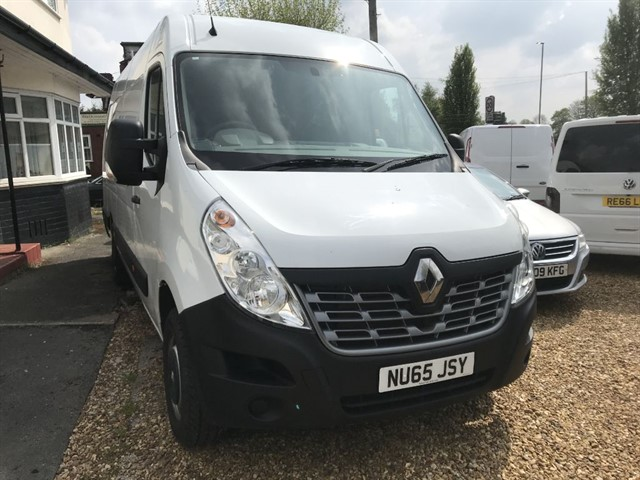 used Renault Master MML35 BUSINESS DCI S/R P/V in warrington
