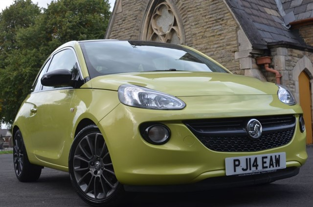 used Vauxhall Adam GLAM in warrington