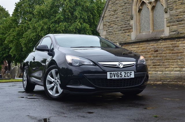 used Vauxhall Astra GTC SPORT S/S in warrington