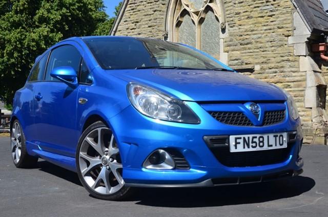 used Vauxhall Corsa VXR in warrington