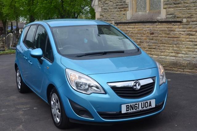 used Vauxhall Meriva EXCLUSIV CDTI in warrington