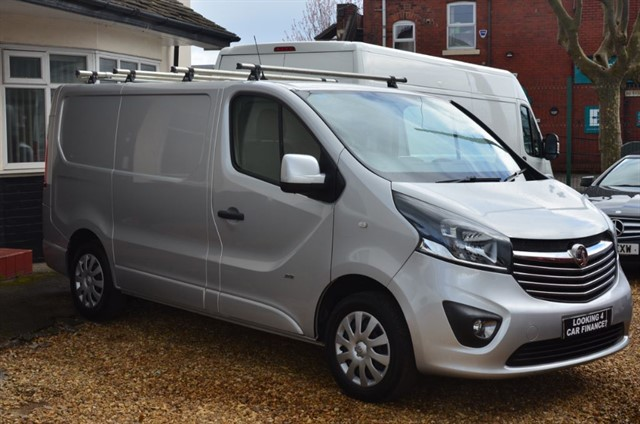 used Vauxhall Vivaro 2700 L1H1 CDTI P/V SPORTIVE in warrington