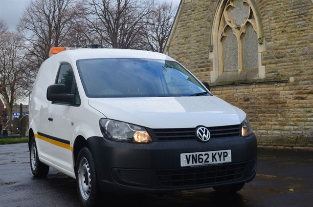 used VW Caddy C20 TDI BLUEMOTION 102 in warrington