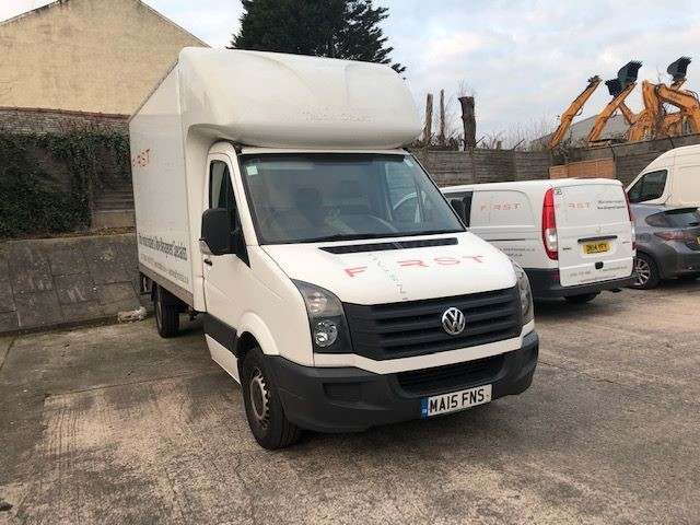 used VW Crafter CR35 TDI C/C LUTON with Tail Lift in warrington