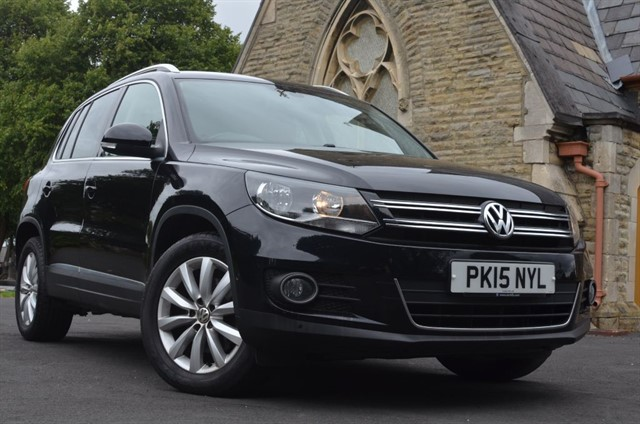used VW Tiguan MATCH TDI BLUEMOTION TECHNOLOGY in warrington