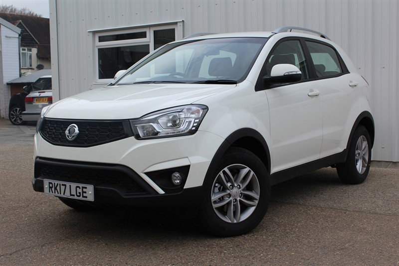 used Ssangyong Korando SE in virginia-water