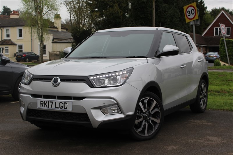 used Ssangyong Tivoli ELX in virginia-water