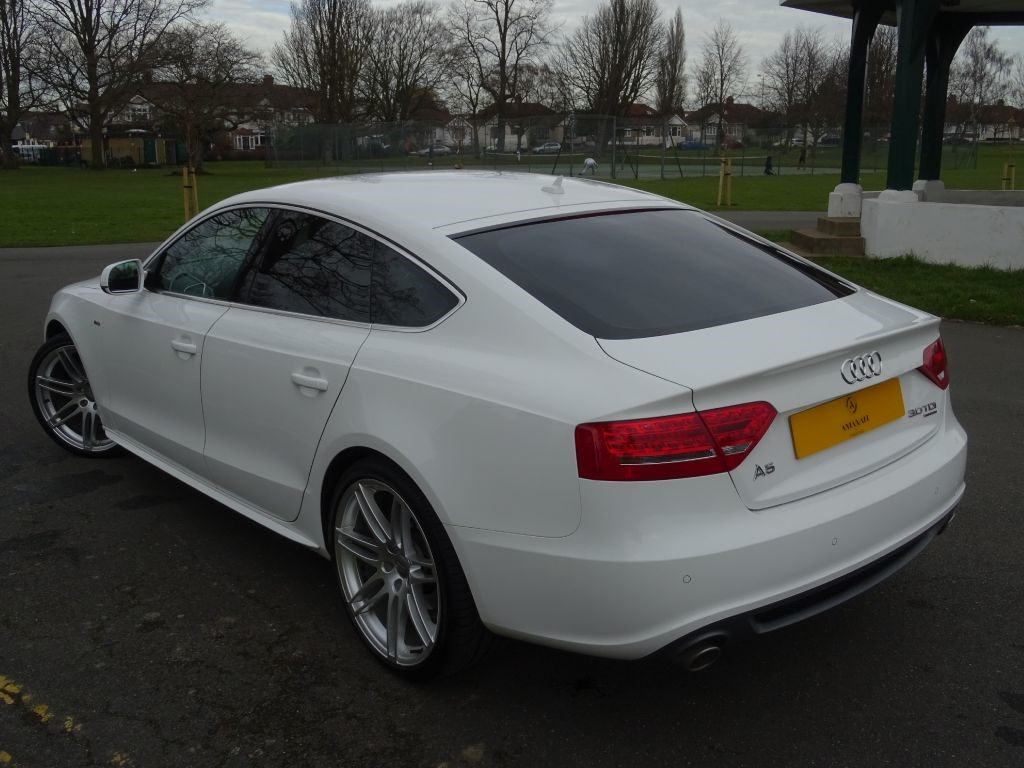 Used Ibis White Audi A For Sale Essex - White audi a5