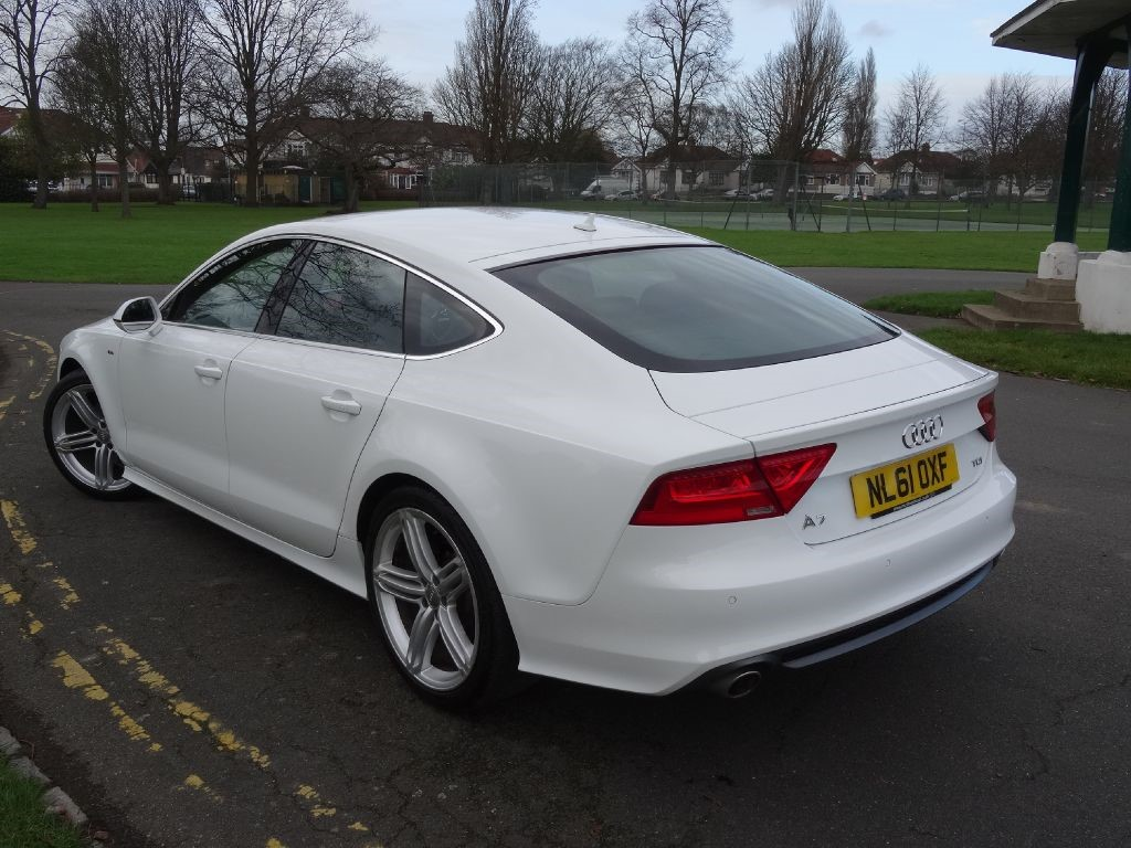 used ibis white audi a7 for sale essex. Black Bedroom Furniture Sets. Home Design Ideas