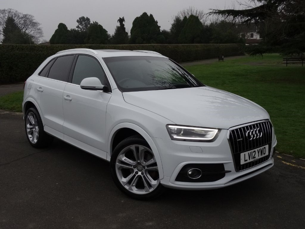 used ibis white audi q3 for sale essex. Black Bedroom Furniture Sets. Home Design Ideas