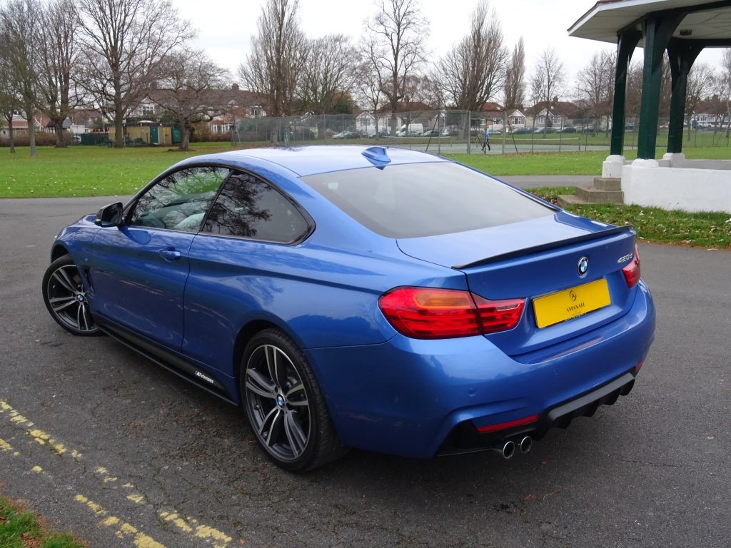 BMW 5 Series bmw 420d coupe price Used Estoril Blue BMW 420d For Sale | Essex