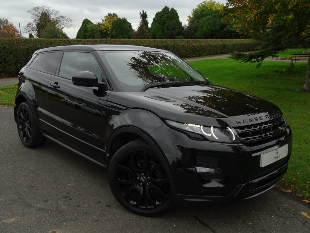 Used Black Land Rover Range Rover Evoque For Sale Essex