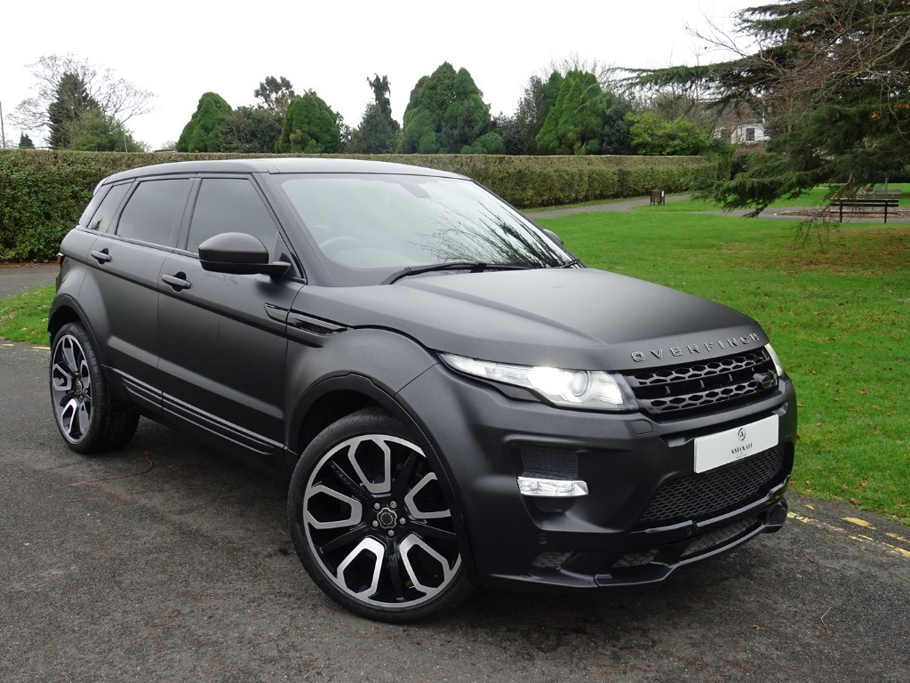 used matt black land rover range rover evoque for sale essex. Black Bedroom Furniture Sets. Home Design Ideas