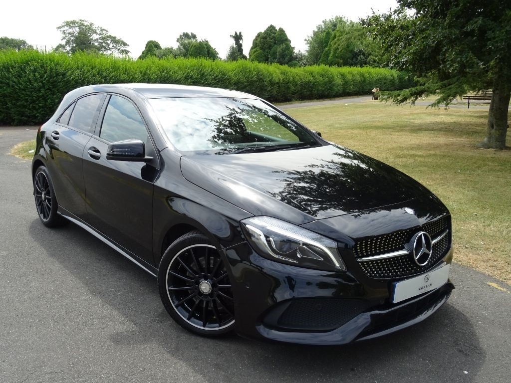 Used Cosmos Black Mercedes A220 For Sale | Essex