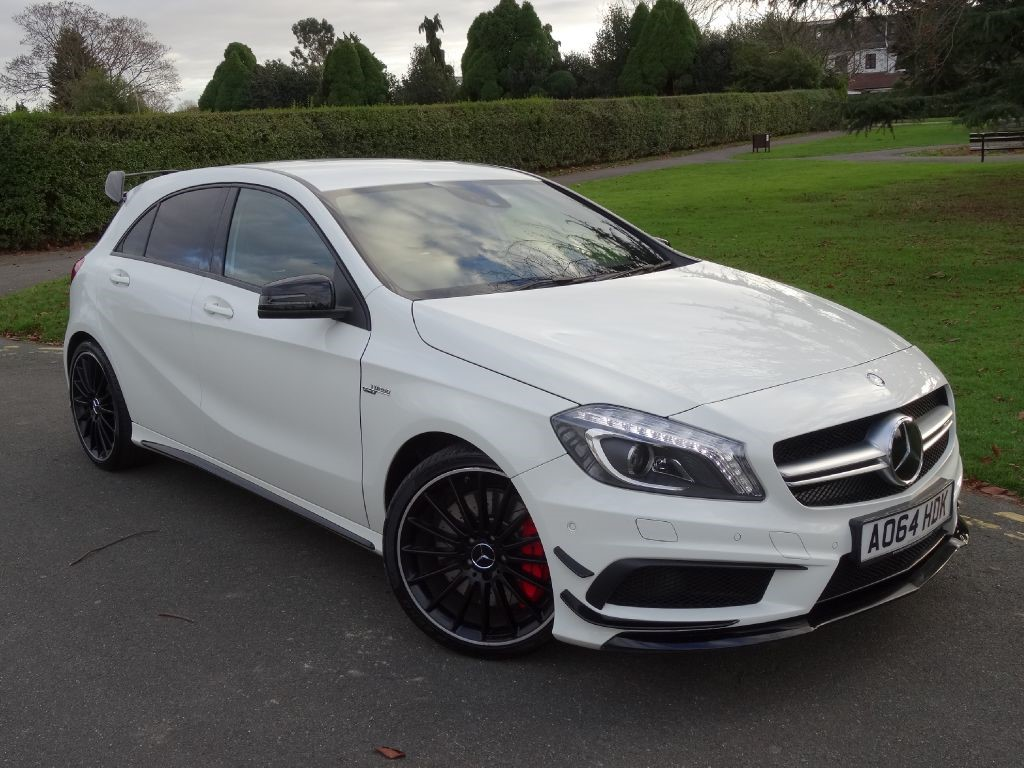 used calcite white mercedes a45 amg for sale essex. Black Bedroom Furniture Sets. Home Design Ideas