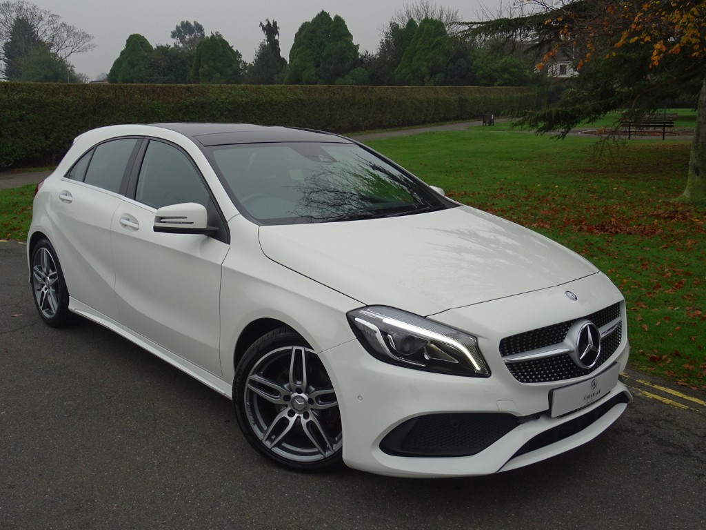Used Calcite White Mercedes A180 For Sale | Essex