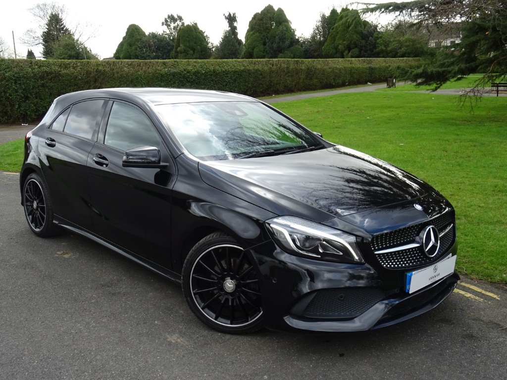 Used Cosmos Black Mercedes A200 For Sale   Essex