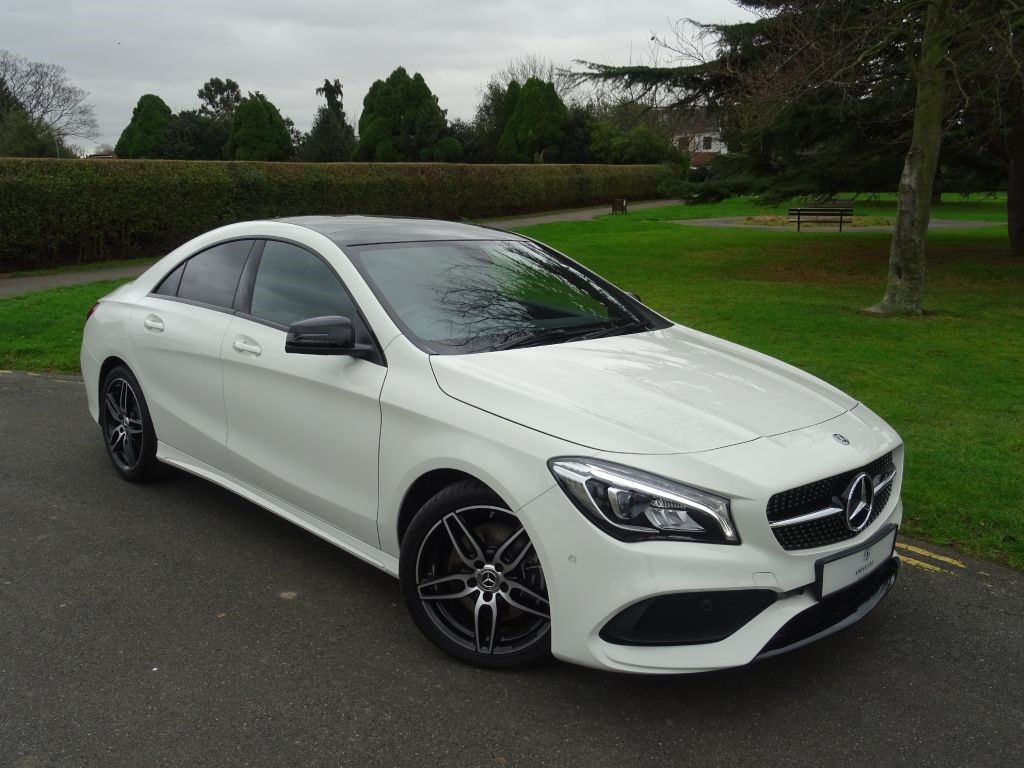 used calcite white mercedes cla 220 for sale essex. Black Bedroom Furniture Sets. Home Design Ideas