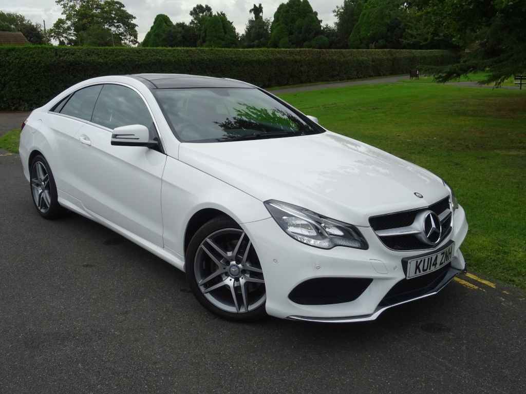 Used polar white mercedes e350 for sale essex for Used mercedes benz e350 coupe