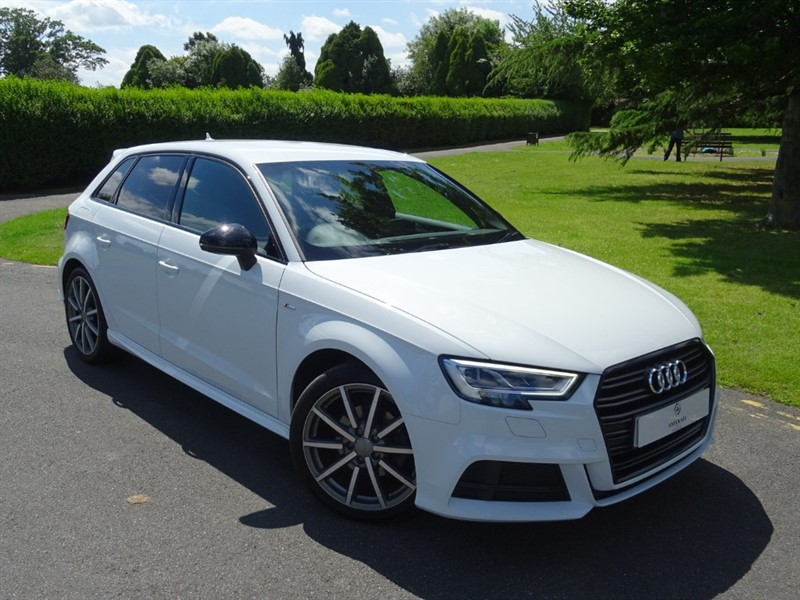 used Audi A3 TFSI S LINE BLACK EDITION in in-essex