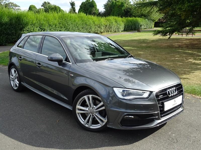 used Audi A3 TDI QUATTRO S LINE NAV in in-essex